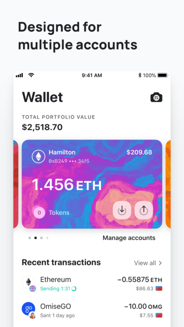 MEW wallet – Ethereum wallet screenshot 12