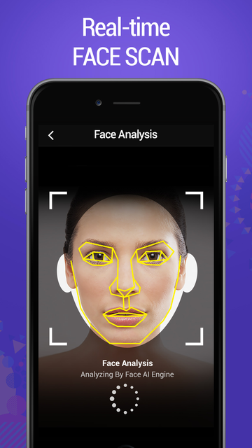 FACE LAB - AI Face Analyzer! screenshot 2