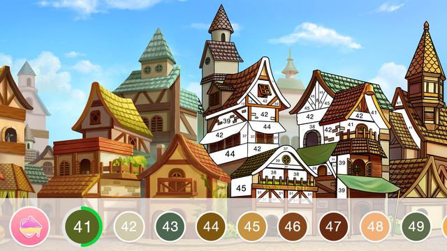 Color By Number - Fun Coloring screenshot 10