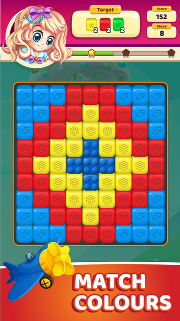Toy Park: Blast Toon Cubes screenshot 2