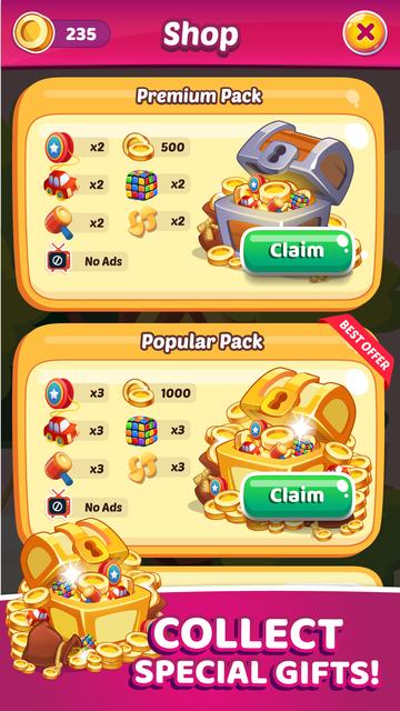 Toy Park: Blast Toon Cubes screenshot 4