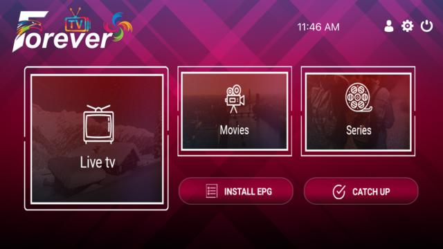 Forever IPTV screenshot 2