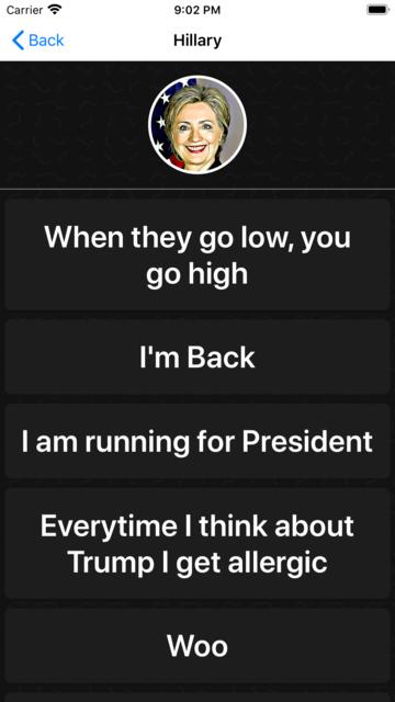 2020 Election Soundboard screenshot 10