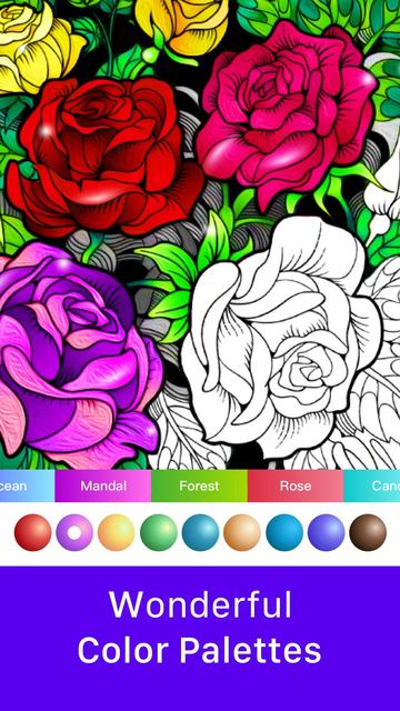 inColor - Art Coloring Space screenshot 7