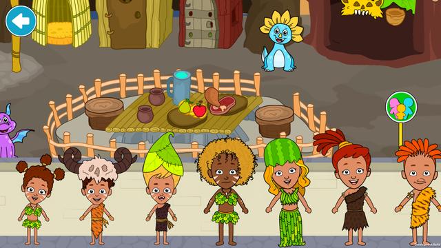 My Dinosaur Town—Caveman Games screenshot 10