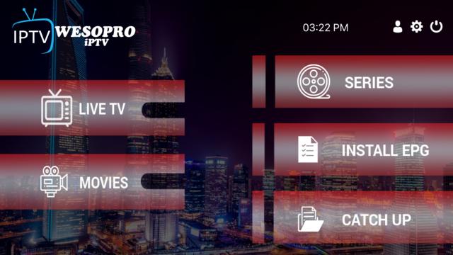 WESOPRO IPTV Player screenshot 2