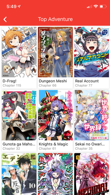 Manga Life screenshot 2