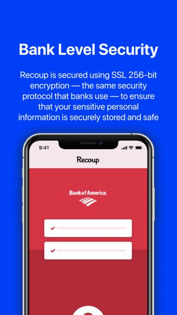 Recoup - Bank Fee Refunds screenshot 7