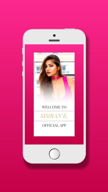 Simran K Official App screenshot 1