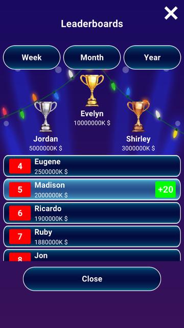 Millionaire 2020 - Trivia Quiz screenshot 5