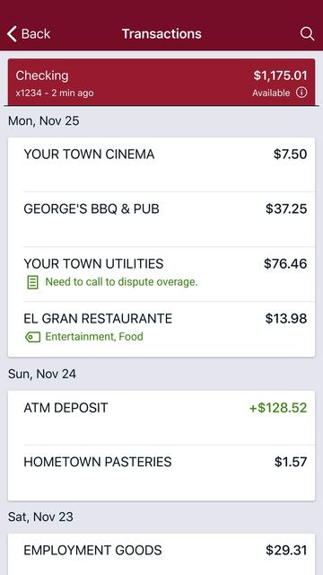 CBNA Mobile Banking screenshot 6