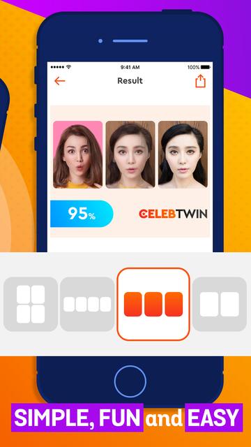 Celeb Twin - Who you look like screenshot 3