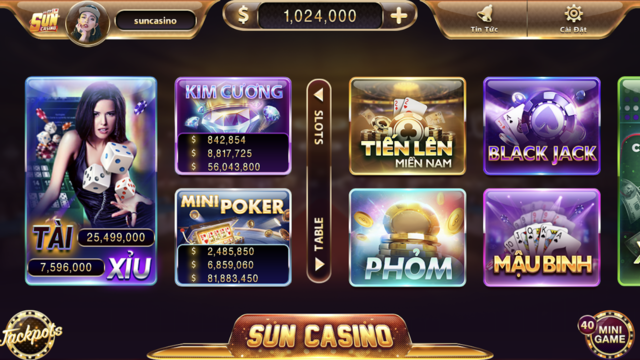 Sun Casino screenshot 2