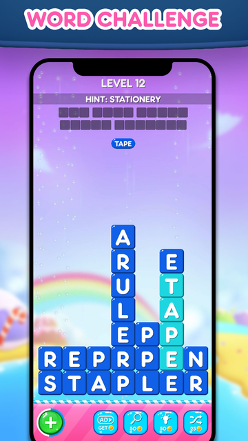Word Bars : Stack the Words screenshot 4