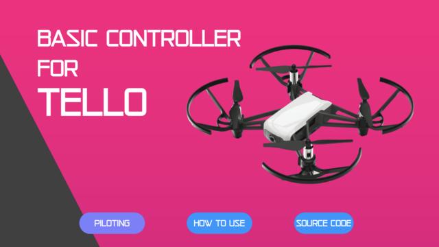 Basic Controller for Tello screenshot 1