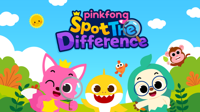 Pinkfong Spot the difference screenshot 6