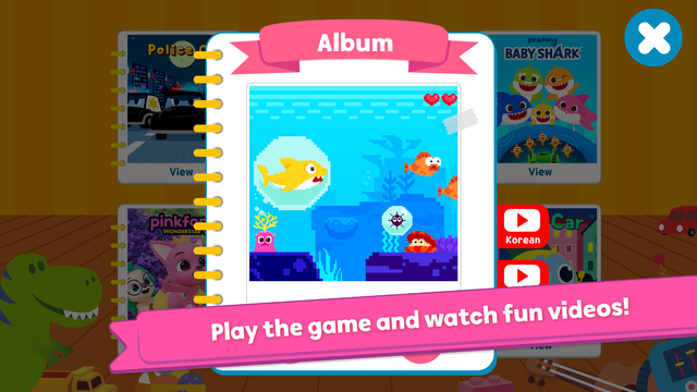 Pinkfong Spot the difference screenshot 10