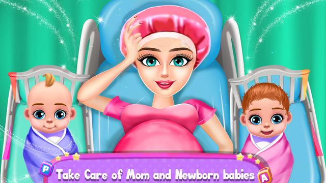 Mom And Twin Baby Daycare screenshot 1