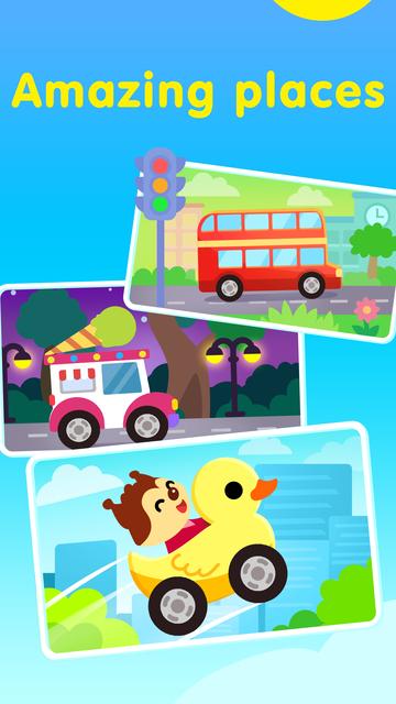 Kids Games: Things That Go! screenshot 4