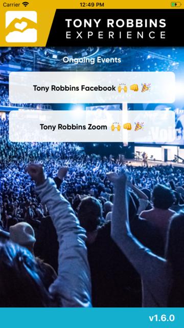 Tony Robbins Experience screenshot 2