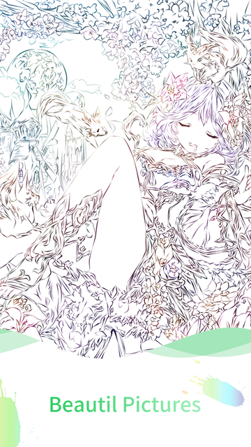 Anime Paint - Amazing Coloring screenshot 9