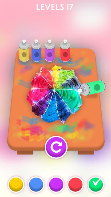 Tie Dye Game screenshot 2