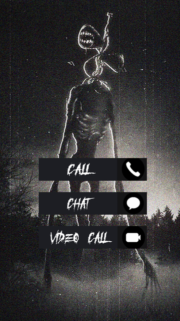 Call Siren Head Chat Video screenshot 1