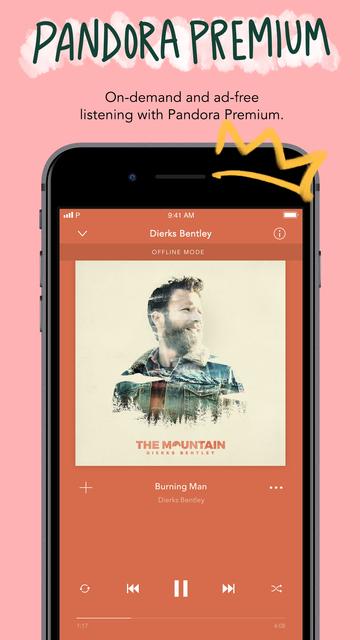 Pandora: Music & Podcasts screenshot 8