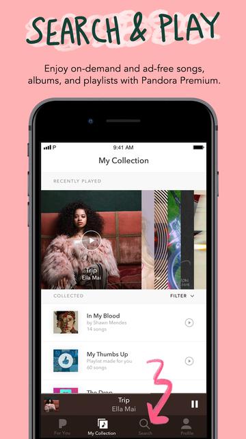 Pandora: Music & Podcasts screenshot 9