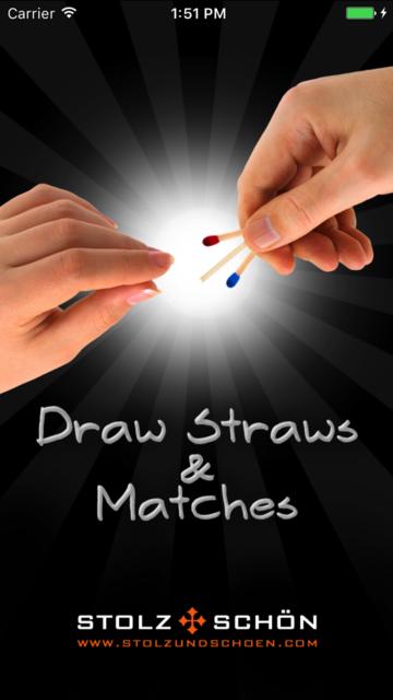 Draw Straws and Matches screenshot 1