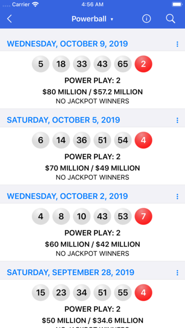 Lotto Results + Lottery in US screenshot 3