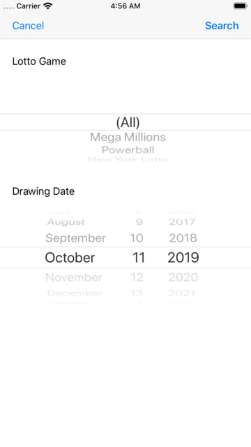 Lotto Results + Lottery in US screenshot 5