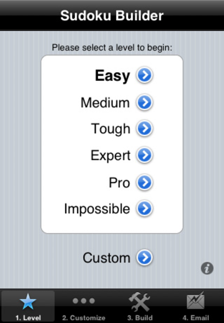Sudoku Builder screenshot 1