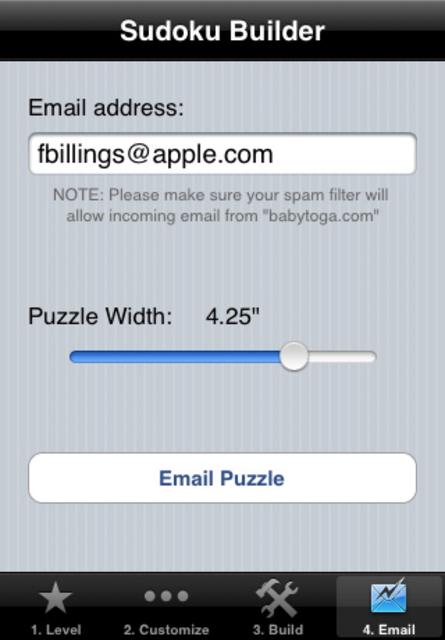 Sudoku Builder screenshot 3
