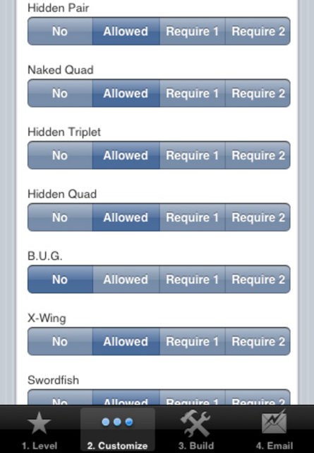 Sudoku Builder screenshot 5