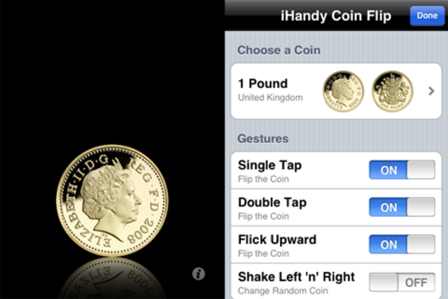 Coin Flip Euro screenshot 2