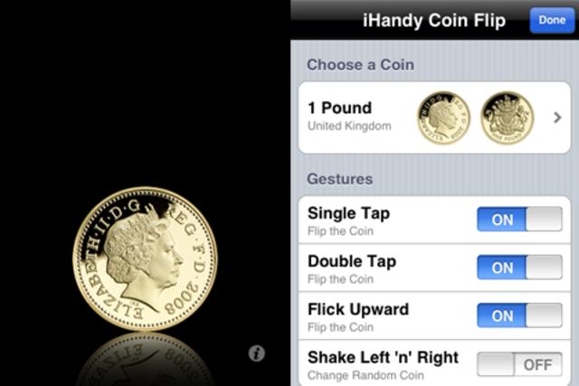 Coin Flip Euro screenshot 2