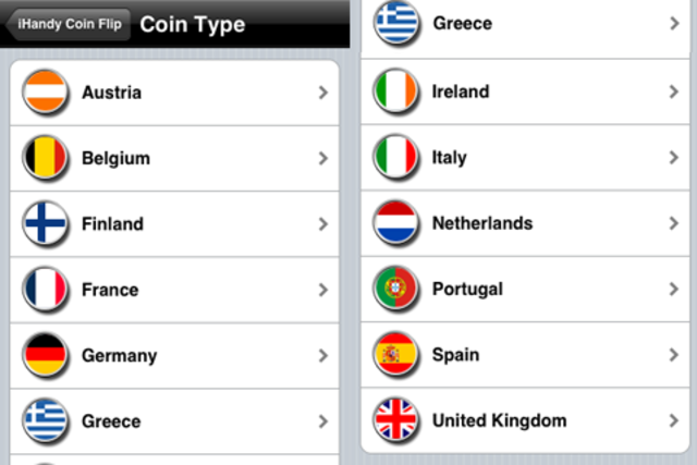 Coin Flip Euro screenshot 3