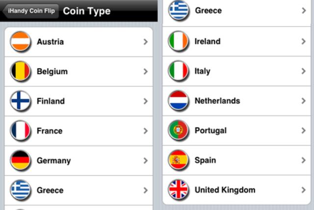 Coin Flip Euro screenshot 3
