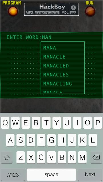 HackBoy screenshot 1