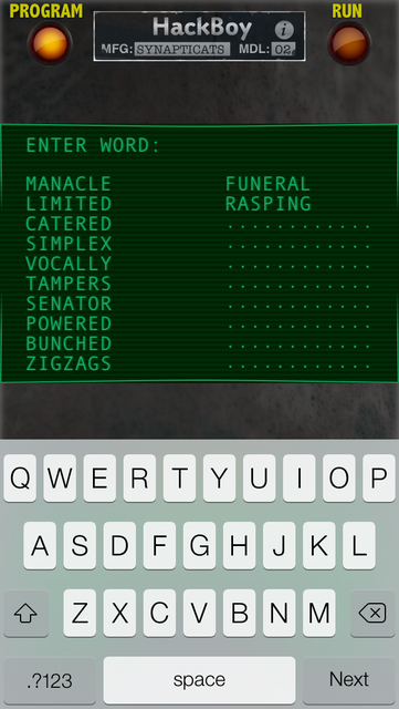 HackBoy screenshot 2