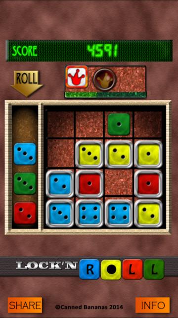 Lock 'n' Roll Pro screenshot 1