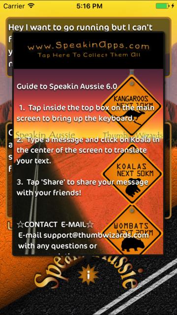 Speakin Aussie screenshot 2