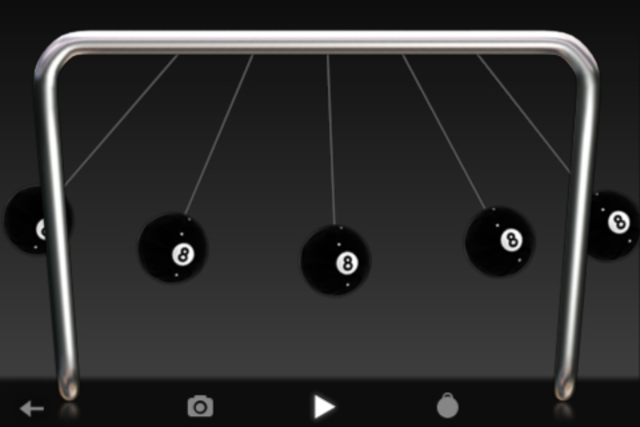 Newton's Cradle Pro screenshot 3