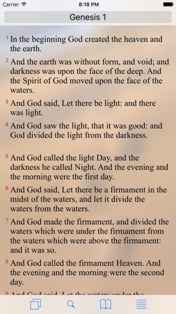 Bible Utility screenshot 2
