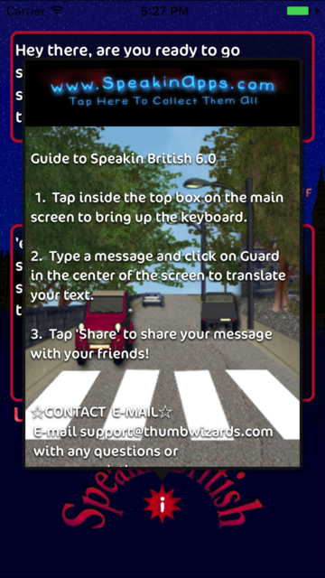 Speakin British screenshot 2