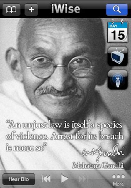 iWise - Wisdom on Demand screenshot 1