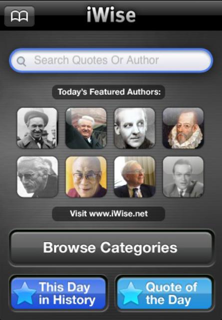 iWise - Wisdom on Demand screenshot 2