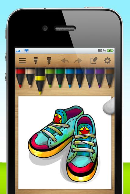 iColoringBook !!! screenshot 8