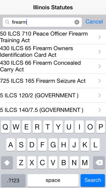 Illinois Statutes screenshot 7